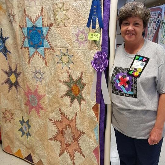2016 Piece Corp Quilters Guild Quilt Show Winner!